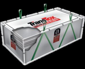 transtox bag freestanding asbestos removal